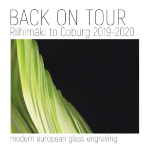 Image of The Glass Engraving Network is back on tour
